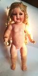 Большая кукла Германия K&R С клеймо в виде 6-конечной звезды Давида