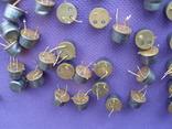 Транзисторы 170 штук желтые ,три ноги.(174 грамм) photo 2