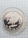 Серебряная монета, Афинская сова (легенда с тетродрахмы) 1 унция photo 1
