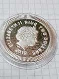 Серебряная монета, Афинская сова (легенда с тетродрахмы) 1 унция photo 3