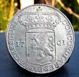 Сільвер дукат 1761 р. Зеландія photo 6