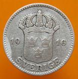 Швеція 25 ере 1916 р., фото №3