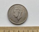 Маврикій 1/2 рупії 1951 р. photo 2