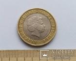 Великобританія 2 фунти 2003 р. photo 2