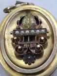 Кулон подвес локед золото 14k
