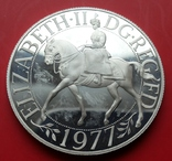 Британия, Унция серебра 1977 года photo 1