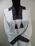 """Жіноча сорочка """"кручені ружі"""" с.Старі Кути 1930рр в бездоганному стані, фото №2"""