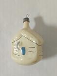 Елочная игрушка Домик, СССР