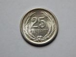 25 центавос, 1953 г Сальвадор