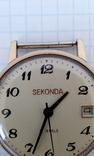 "Годинник ""SEKONDA"" (Ay 5) в позолоті,на ходу. photo 9"