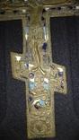 Крест старообрядческий в 3-х эмалях photo 6