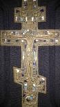 Крест старообрядческий в 3-х эмалях photo 7