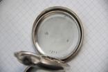 Серебряные карманные часы T Moser & Co photo 2