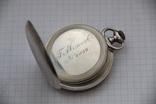 Серебряные карманные часы T Moser & Co photo 3