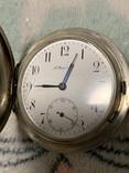 Серебряные карманные часы T Moser & Co photo 12
