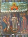 Икона Покров Пресвятой Богородицы (19 век, 360*442*22 мм)