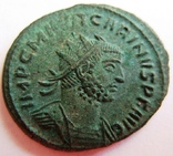 Биллоновый антониниан, Carinus (282-284 гг. н.э) - мондвор - Antioch