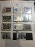 Альбом-погодовка негашеных марок, сцепок, блоков СССР. 282 шт. photo 8