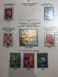 Альбом-погодовка негашеных марок, сцепок, блоков СССР. 282 шт. photo 12