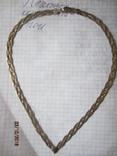 Колье сложного плетения, серебро 925, Италия photo 4