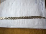 Колье сложного плетения, серебро 925, Италия, фото №10
