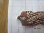 Колье сложного плетения, серебро 925, Италия, фото №11