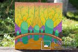 Картина акрилом для дитячої кімнати. Сад біля озера. (30х30см) С. Смаль photo 6