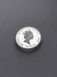 1 доллар Тувалу 2009 год Proof серебро 999 проба
