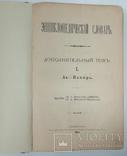 Энциклопедический словарь Брокгауза и Ефрона  1 долнительный том, фото №5