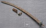 Сабля с бронзовой гардой и деталями ножен., фото №4