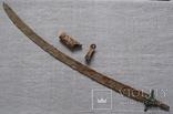 Сабля с бронзовой гардой и деталями ножен., фото №5