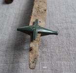 Сабля с бронзовой гардой и деталями ножен., фото №8