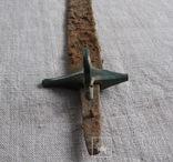 Сабля с бронзовой гардой и деталями ножен., фото №11
