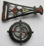 Фибулы Киевская культура, 3-4 век