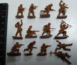 Набор солдатиков ( Африканский корпус )., фото №8