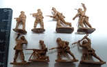 Набор солдатиков ( Африканский корпус )., фото №9