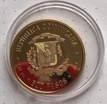 500 песо Доминиканская республика 1990г., парусник photo 5