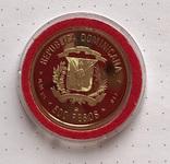 500 песо Доминиканская республика 1990г., парусник photo 6