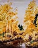Осенний пейзаж, 37*30 см