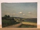 Картина Сельской Пейзаж, 1923 г. Подпись автора: FE.