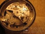 Часы будильник Ракета черный циферблат, фото №6