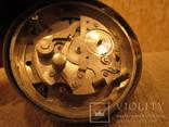 Часы будильник Ракета черный циферблат, фото №7