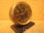 Часы будильник Ракета черный циферблат, фото №11