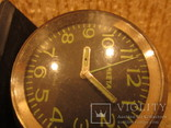 Часы будильник Ракета черный циферблат, фото №12