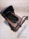 Винтажная в Викторианском стиле коляска для кукол, фото №5