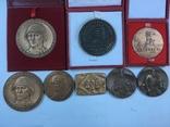 Медалі настільні 8шт. (польскі), фото №3
