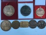 Медалі настільні 8шт. (польскі), фото №4