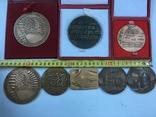 Медалі настільні 8шт. (польскі), фото №5