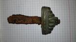 Навершие тыльник меча кр (яблоко) с частью рукояти