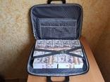 №2, Сумка-дипломат с деньгами 100 $ долларов ( Муляж) Бутафорские деньги, фото №4